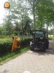 Nieuw Wegenbouw.be - Tractor + aanbouwheggenschaar Te huur met bediening. AP-74