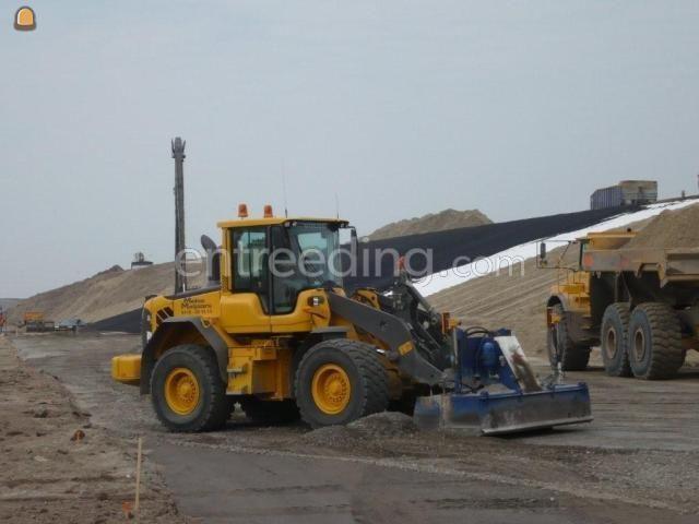 Wiellader / shovel Volvo L70F + leveler