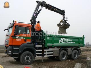 MAN 6x6 Knijperwagen Omgeving Middelburg