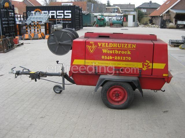 Mobiele dieselcompressoren atlas copco