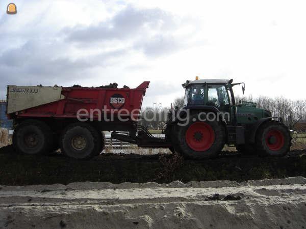 Tractor + kipper Fendt + Beco 180(gestuurd)