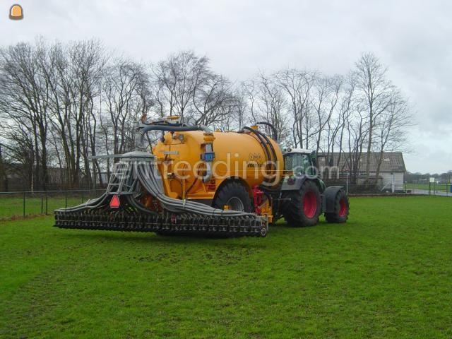 Tractor + bemester Veenhuis