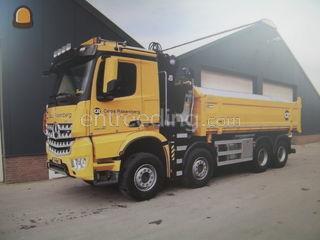 Knijperwagen 8x4 Arocs Omgeving Breda