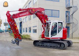 Kobelco SK140SR (15 tons) Omgeving De Ronde Venen