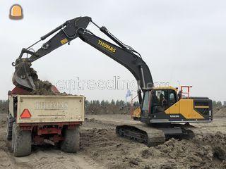 Volvo ec250E Omgeving Lisse