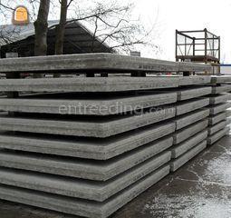 Prefab betonplaten Omgeving Middenmeer