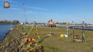 GPS uitzetter/landmeter Omgeving Middenmeer