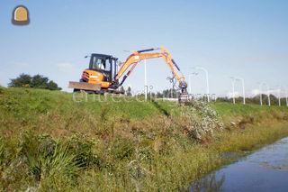 aanleg en ruimen grachte,... Omgeving Antwerpen