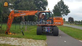 Doosan DX140 Omgeving Wijk bij Duurstede