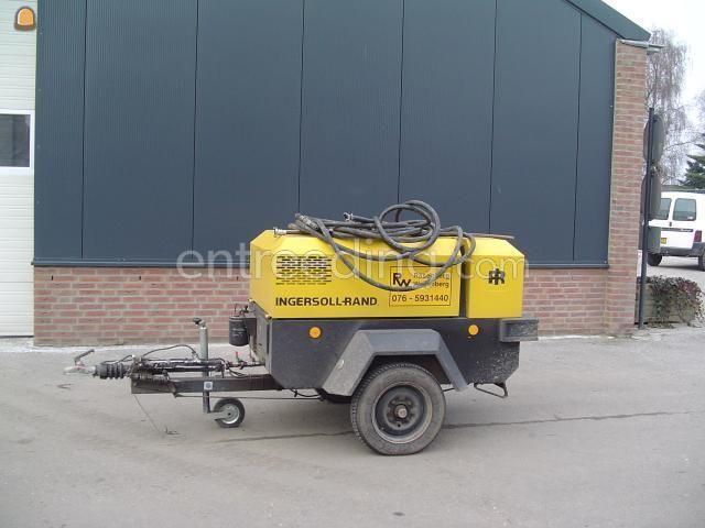 Mobiele dieselcompressoren Ingersoll-rand