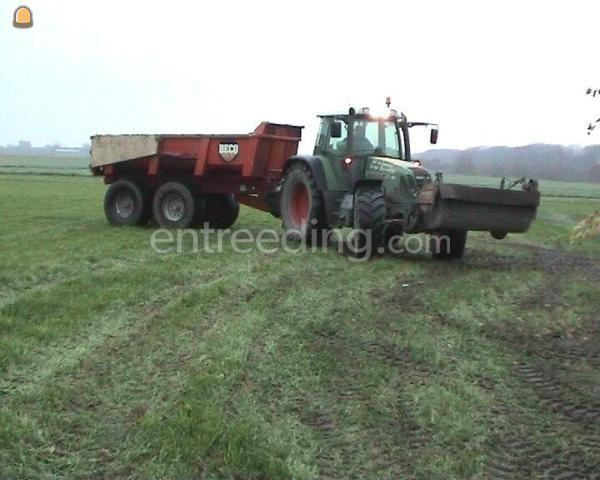Tractor + kipper Beco 10m3