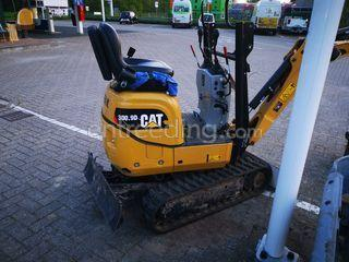 Minigraver CAT 300.9D TE ... Omgeving De Drechtsteden