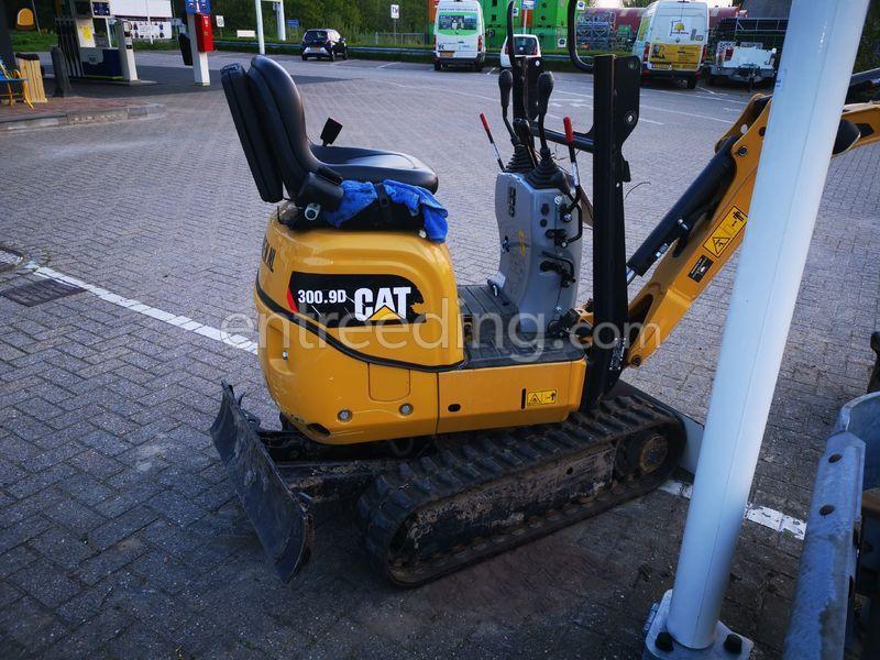 Minigraver CAT 300.9D TE KOOP 2018 + 3T Aanhanger I for Williams
