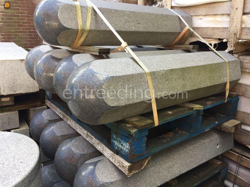 graniet afzetpalen - anti ram palen