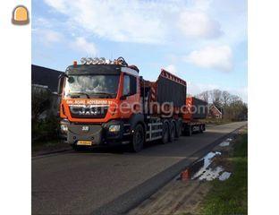 MAN TGS 8x4 Knijperwagen Omgeving Haarlem