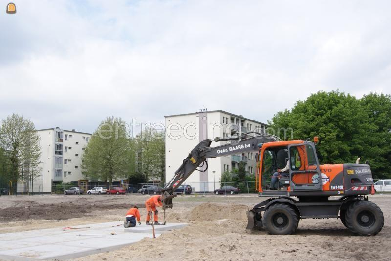 Mobiele graafmachine Volvo EW 140B