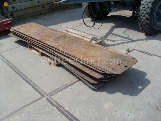 Rijplaten staal Rijplaten 300*50