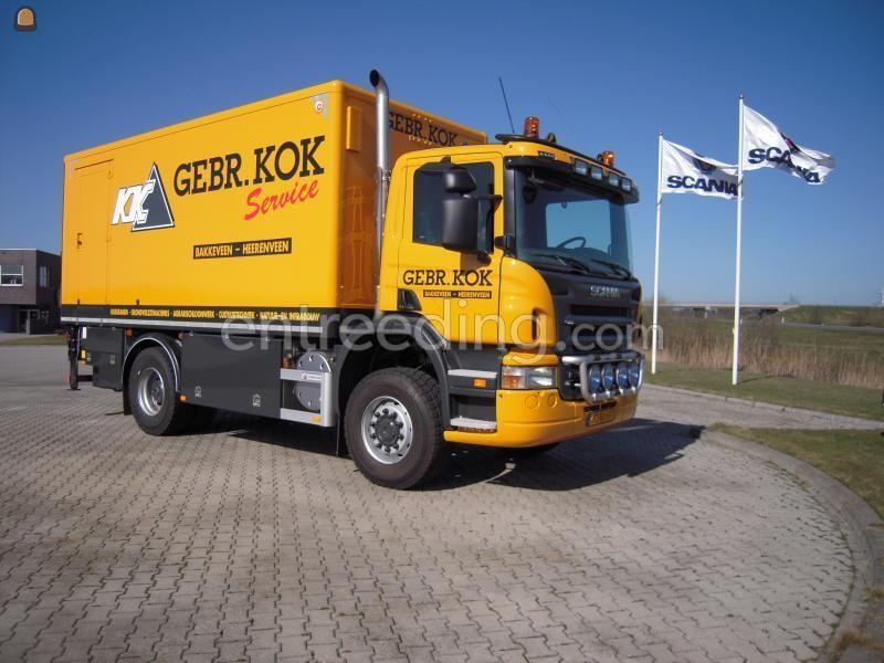Machinekeuringen / inspecties Eigen service Scania P 340 b 4x4