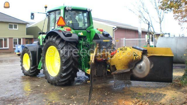 Tractor + stobbenfrees JD + stobbenfrees