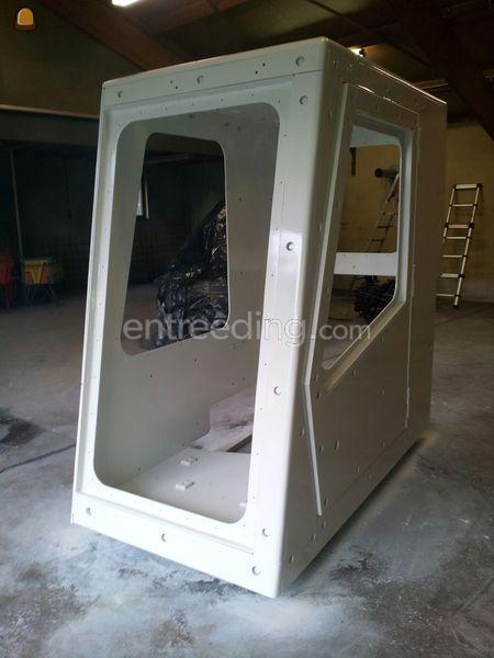 Rupskranen met bom-vrije-cabine