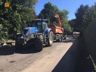 tractor met gronddumper Omgeving Antwerpen