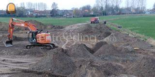 uitgravingen, ophoging, n... Omgeving Antwerpen