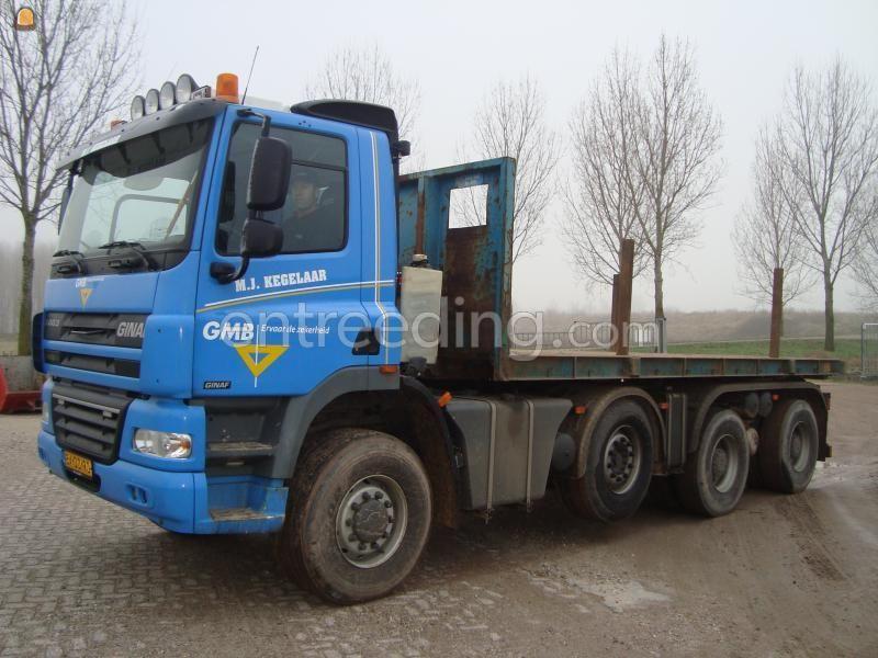 Kippervrachtauto Ginaf X4343 LS