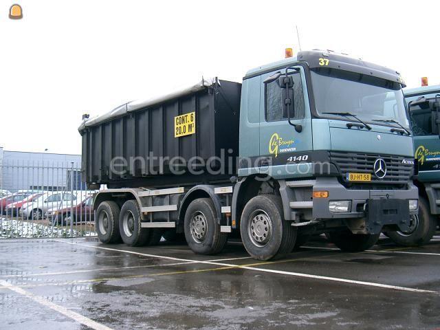 Kippervrachtauto MB Actros 4140 (3 stuks) Containerwagens 8x4