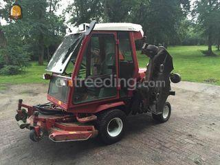 Toro 4000D gazonmaaier Omgeving Sliedrecht