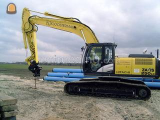 Hitachi ZX250LC-5 GPS (me... Omgeving Goes