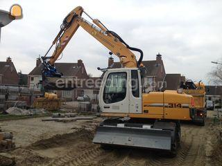 Liebherr A314 Litronic Omgeving Goes