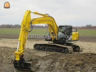 Hitachi ZX250LC-5 GPS Omgeving Goes