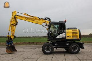 Hitachi ZX140W-5 Omgeving Goes
