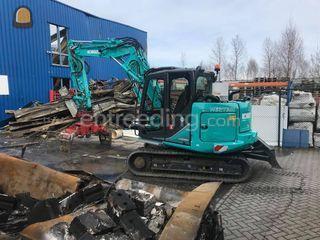 Kobelco SK85MSR Omgeving Maastricht