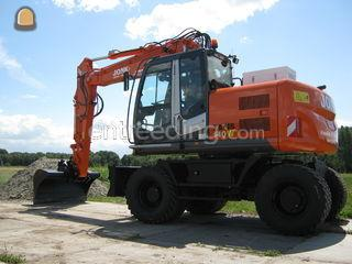 Hitachi ZX 140W-3 (evt. o... Omgeving Purmerend