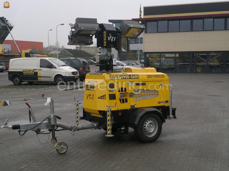 Zwaaibalken lampen lichtmast mobiel te huur for Mobiel te koop