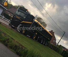 Volvo met kipperoplegger Omgeving Herentals, Turnhout