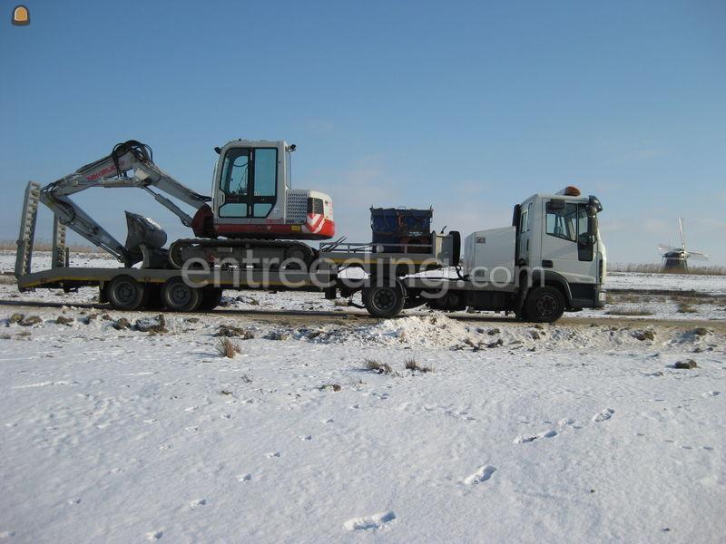 Dieplader / oprijwagen iveco eurogargo