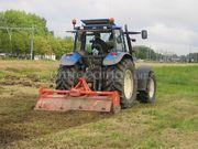 Tractor + grondfrees trekker met grondfrees