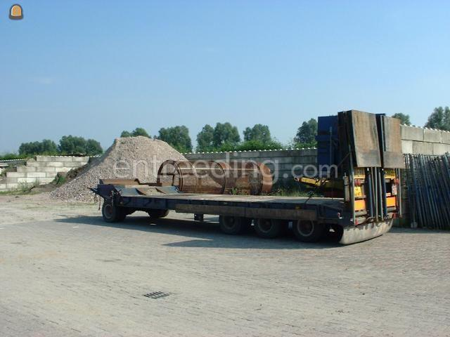 Dieplader / oprijwagen 4-asser