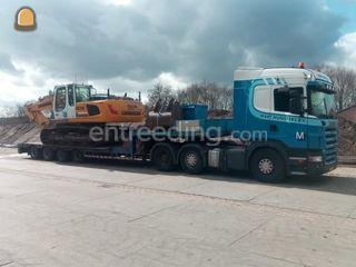 Scania R 500 + Lintr 4-as... Omgeving Deurne