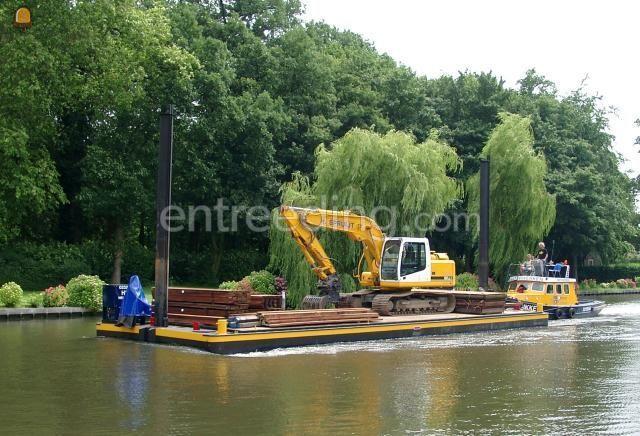 Pontonboot Duwboot + ponton