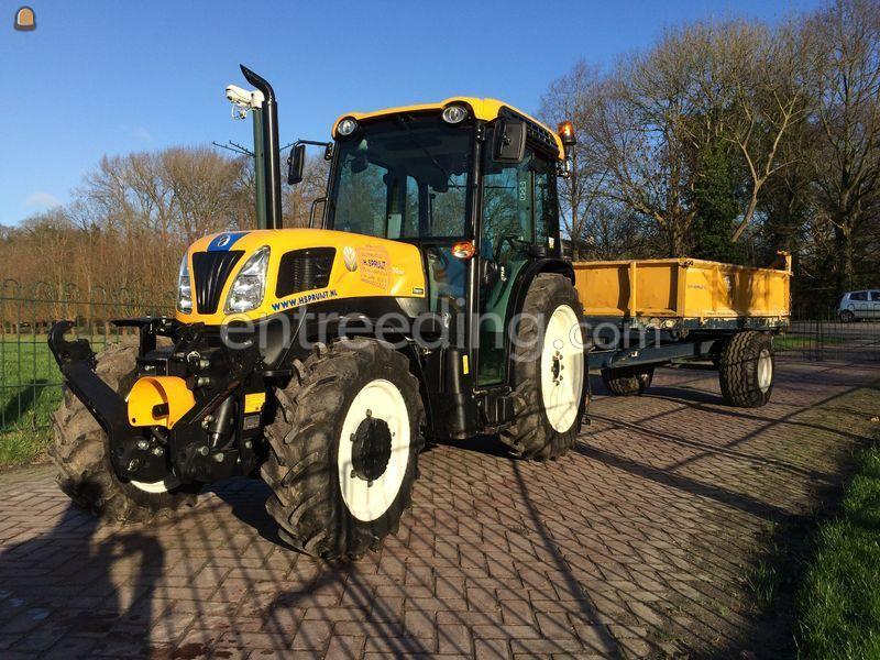 Smalspoor tractor AWD