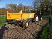 Smalspoor tractor + kipper