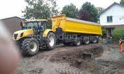 Tractor + drie-assige kipper