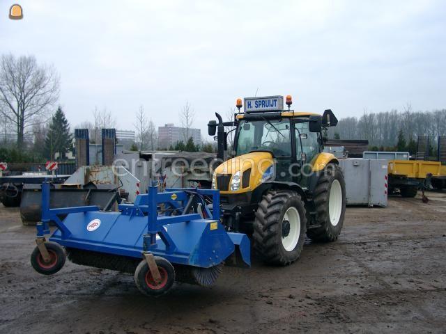 Tractor + veegmachine Veegmachine AP