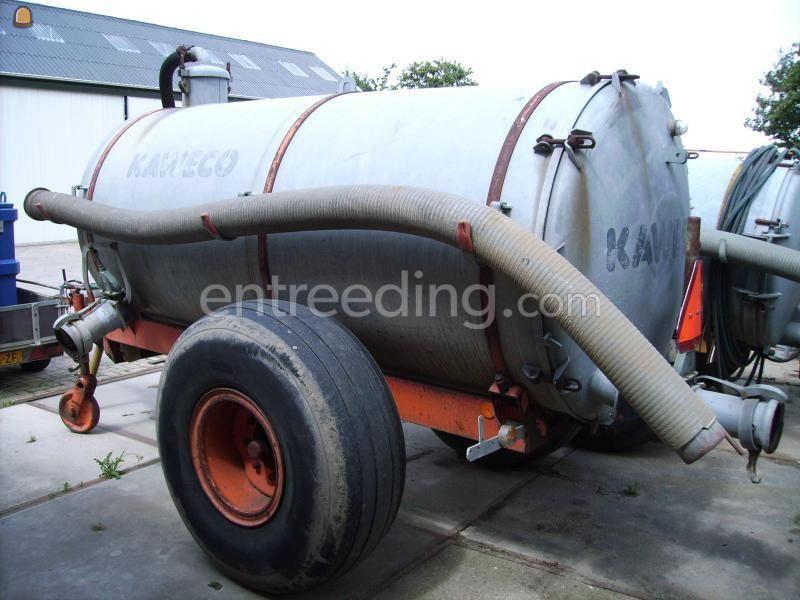 Tractor + waterwagen Kaweco