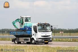 Dieplader / oprijwagen Renault containerauto