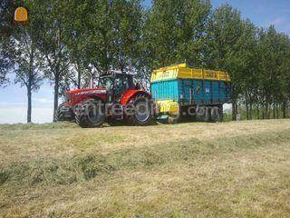 MF + mengle roto bull 600... Omgeving De Ronde Venen