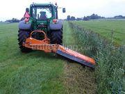 Tractor + klepelmaaier JD + Votec